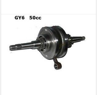 Gy6 GY5 49cc 50сс скутер коленчатый вал в сборе 16 t 16 зубы