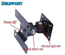 F03 14-24 inch Full Motion LED LCD TV Wall Mount Monitor Holder Bracket