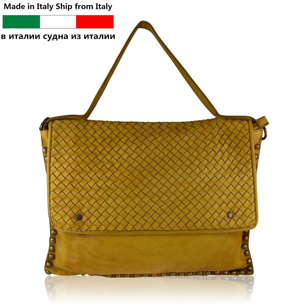 5cc1fad75cd6 Сделано в Италии Корабль из Италии-подлинный итальянские сумки кожаные  Оптовая продажа-Бесплатный Пользовательский логотип-новые женские .