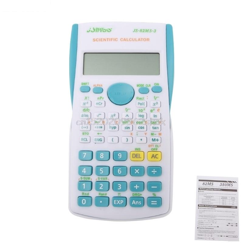 Научный калькулятор студент 240 функции 2 линии Дисплей 12 цифровой электронный научный калькулятор # h029 #