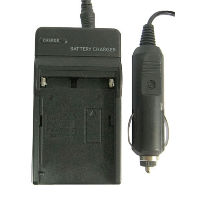 PULUZ 2 in 1 Digital Camera Battery Charger Can Use in Car for Panasonic VBD1/ VBD2, SONY F550/ F750/ F960...