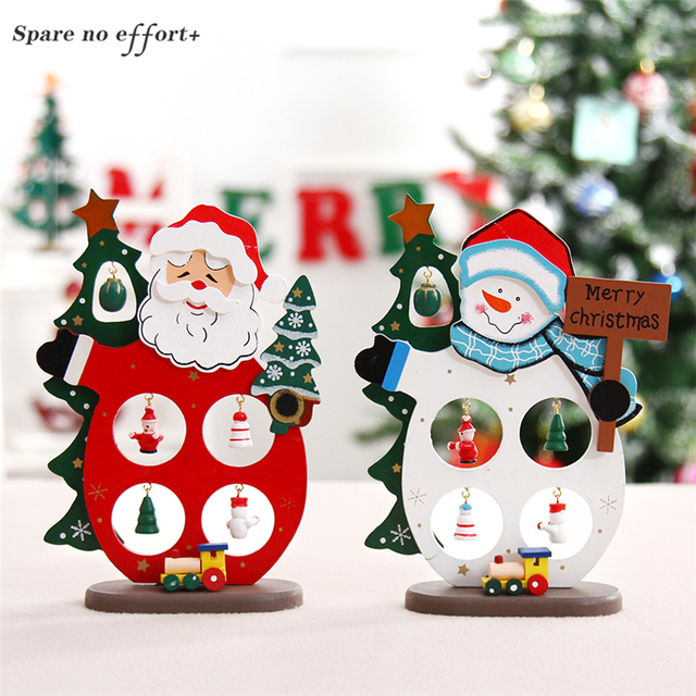 christmas crafts christmas garden decorations christmas woods new year gifts small santa claus snowman children festive