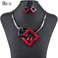 MS1504791 Fashion Jewelry Sets High Quality Necklace Sets For Women Jewelry Multicolored Crystal Resin Unique Design