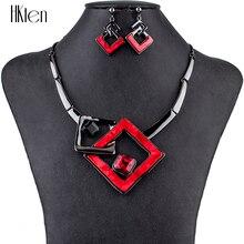 MS1504791 Модные Ювелирные наборы высокого качества ожерелье наборы для женщин ювелирные изделия Разноцветные кристаллы смолы уникальный дизайн подарок Вечерние
