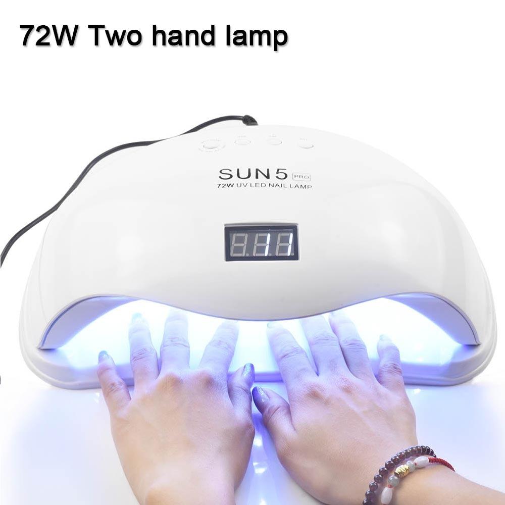 LED Nail Dryer For All Gels Polish Sun Light Lamp Infrared Dryer