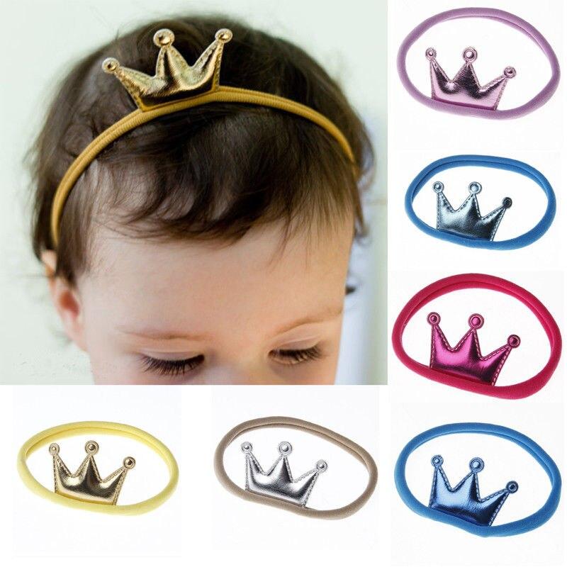 US $0 6 12% OFF|Unisex Baby Toddler Girls Boys Crown Hairband Elastic Nylon  Headband Headwear One Size on Aliexpress com | Alibaba Group