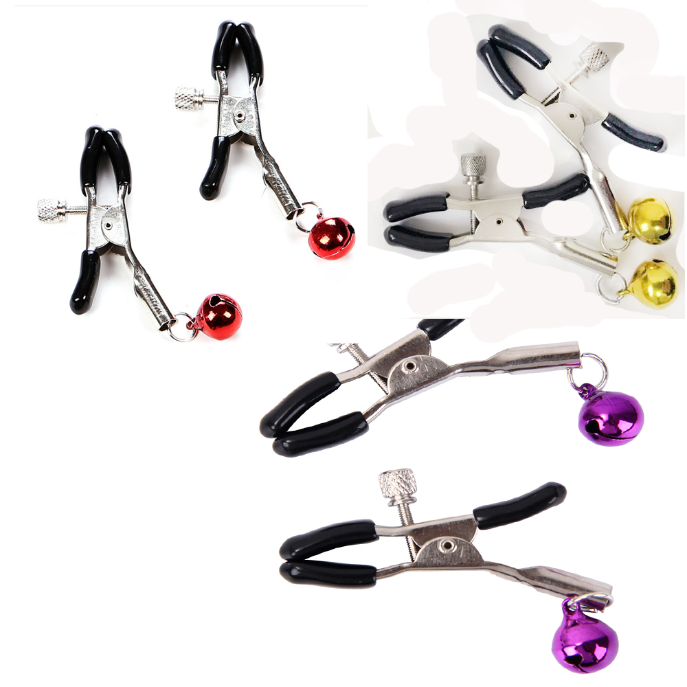 Bondage  Sex Toys For Couples Women Lingerie Bell M Clip Breast Bra Nipple Cover Pasties Sexy Erotic Toys For Women Accessories