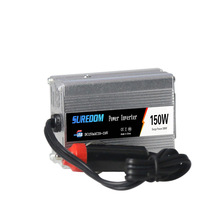 150w Solar Inverter Multifunctional Travel Power Supply Control Dual USB Car inverter 12V 24V 110V 220V Low power Conversion