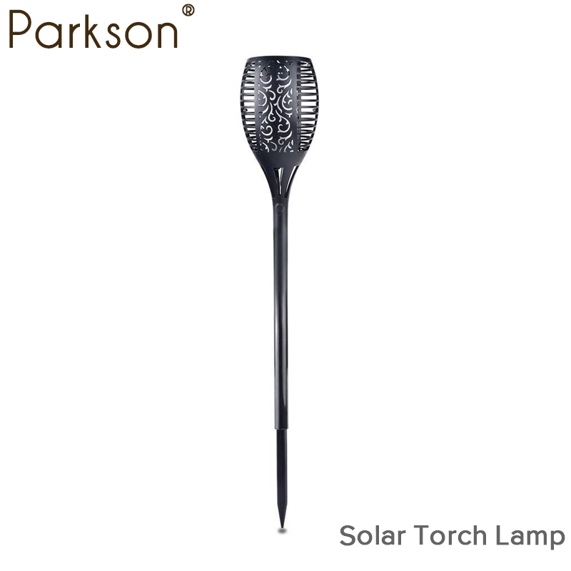 garden lights outdoor led Solar Flame Flickering Lawn Lamp Garden Lighting Waterproof Garden lamp Decoration Auto-recharging