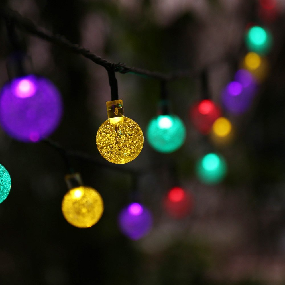 Outdoor Christmas Lights Solar Powered