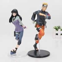 Anime Naruto Abbildung Ninja Hyuuga Hinata Hyuga Figur Uzumaki Shippuden Naruto EDELSTEIN PVC Action Figur Spielzeug Sammlung Modell Geschenk