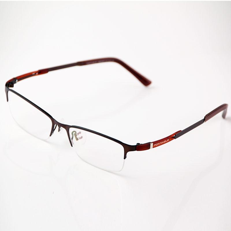 Sınıf Erkek Kadın Asetat ve Metal Gözlük Çerçeveleri Marka - Elbise aksesuarları - Fotoğraf 3