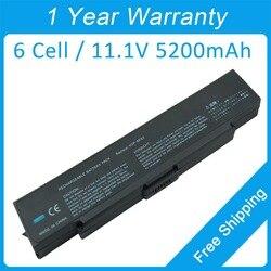 Новый 6 ячеек батареи ноутбука VGP-BPS2B VGP-BPL2C для sony VAIO VGN-AR320E VGN-C15GPB VGN-FE25CP/H VGN-C220E VGN-FE50B