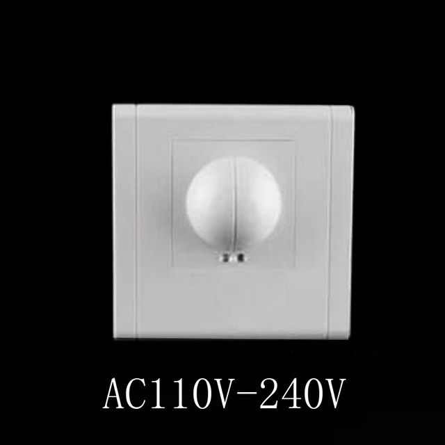 Hot Sale 110/AC 240V/AC 360 Degree Microwave Sensor Light Switch Induction Microwave