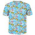 Корм Для кошек Ти 3d смешные футболки тако/гамбургеры/пиццы/мороженое/пончики печати футболки женщин мужчины повседневная майки топы рубашки