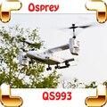 Regalo de navidad Osprey Aviones de Transporte 4.5 CANALES 2.4G RC Helicóptero de Control Remoto de Doble Motor Juguete Juguetes Militares Doble Gyros