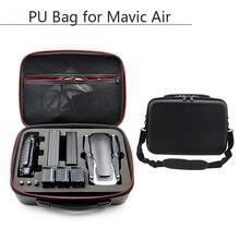 ドローンキャリングケース pu 防水防塵ハンドバッグ収納袋保護ボックス dji mavic 空気電池コントローラアクセサリー