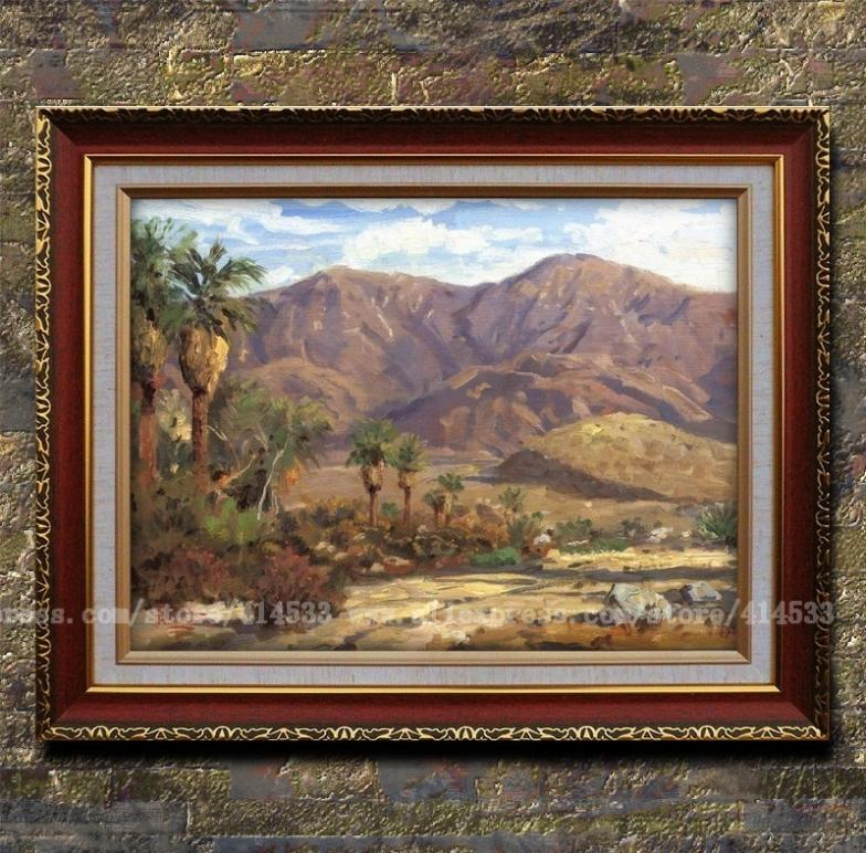 Prints Of Thomas Kinkade Oil Painting Palm Springs Canvas
