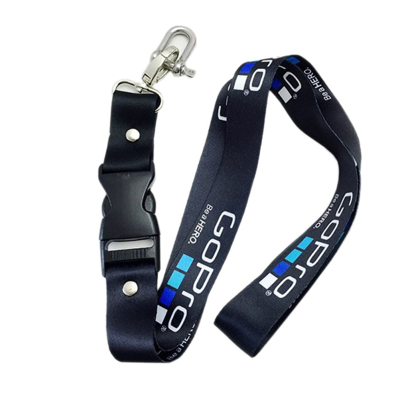 Neck Strap Lanyard Sling with Quick-released Buckle for GoPro 6 5 5s 4 3+ 3 2 1 Action sports Camera Accessories