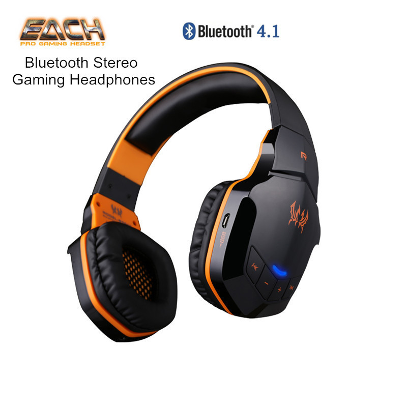 buy each b3505 wireless bluetooth stereo gaming headphones game headset pc. Black Bedroom Furniture Sets. Home Design Ideas