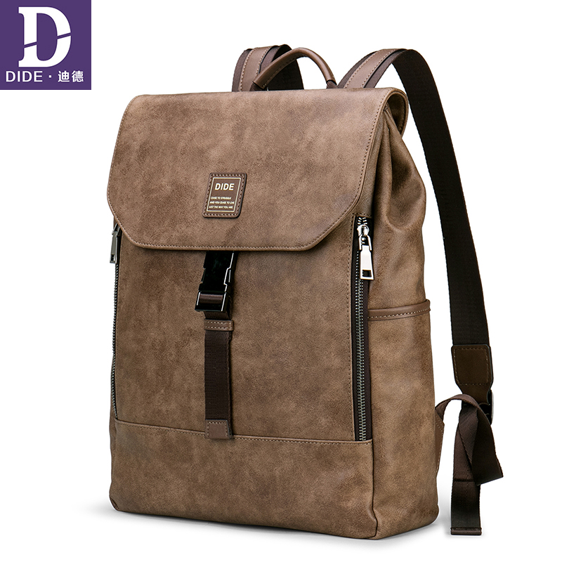 DIDE 2018 Fashion Laptop backpacks mens Travel  Hasp Anti-theft male Vintage School Bags Casual bagpack mochilaDIDE 2018 Fashion Laptop backpacks mens Travel  Hasp Anti-theft male Vintage School Bags Casual bagpack mochila