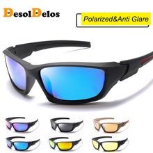 2019 Top Polarized Sunglasses Men Metal Hinges HD Polaroid lens Square Sun Glasses With Original Bags P1031