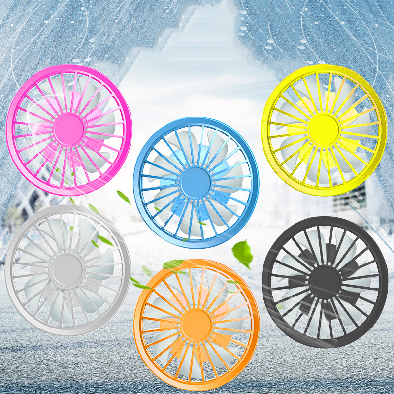 2019 Air Conditioning Clothing Cooling Fan Jacket Accessories 5V Brushless Motor High Speed Cooling Fans