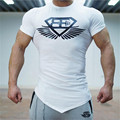 New tshirt homme Stringer T-shirt Man Body Engineers Bodybuilding Fitness Sportswear For Men Shirt Fashion O-Neck t-Shirts yeezy