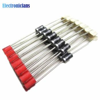 100 sztuk 1A 1000V diody 1N4007 IN4007 DO-41 100 nowy pochodzenia tanie i dobre opinie diymore Diodes standard Przez otwór