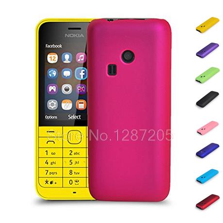 the best attitude 1b3b1 ea621 For Nokia 220 Dual SIM RM 969 Hard Rubber Coating Back Case Cover on ...