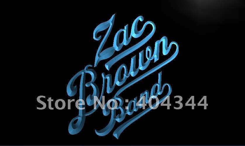 LF230- Zac Brown Band LED Neon Light Sign