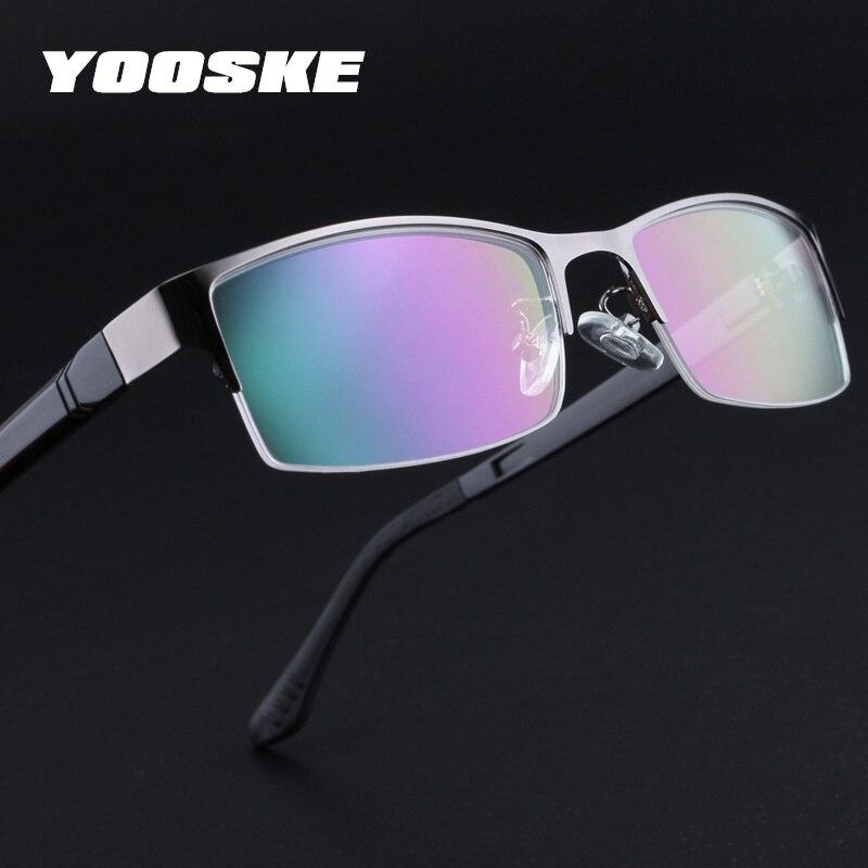 YOOSKE Marke Männer Brillen Rahmen Retro TR90 Business Gläser Rahmen ...