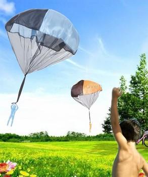 Dzieci dzieci loty na paralotni spadochron rzut i spadek zabawki dla chłopców zestaw zabawy na świeżym powietrzu i sport kampanii dzieci nauka tanie i dobre opinie Poliester Pojedyncze Trójkąt 2-4 lat 5-7 lat 8-11 lat Chłopcy No eating kites Uchwyt i linii latawca paraglider parachute