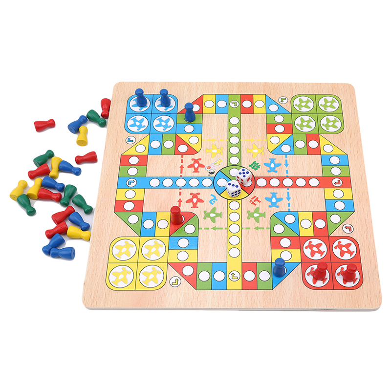 Classic Flight Chess Game Flying Chess Party Family Children Kid Toys Classic Flight Chess Game Flying