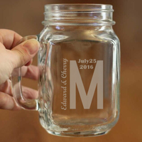 1 Stylish Mason Cup Bulk Capacity 450ml Can Hold Water Juice And Beverage Mason Jars For