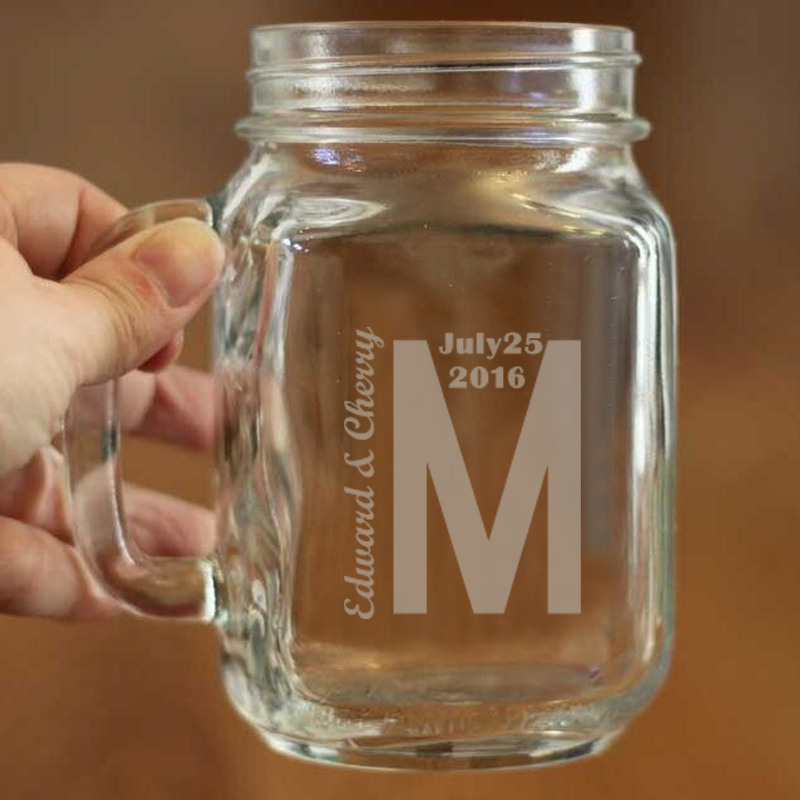 1 Stylish Mason <font><b>Cup</b></font> Bulk Capacity 450ml <font><b>Can</b></font> Hold Water Juice and Beverage Mason Jars for <font><b>Drinking</b></font> Wedding <font><b>Cups</b></font> Custom Mugs/Jars