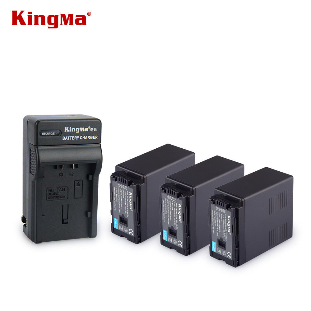 KingMa High Capacity 5400mAh VW-VBG6 VW VBG6 for PANASONIC AG-HMC71 HMC73 HMC150 HPX250 AC160MC Camera Battery AG-AC130 AG-AC160 все цены