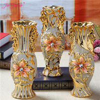 JIA GUI LUO Ceramic Nordic Decoration Home Vases for Flowers Vase Decoration Home Living Room Decoration C022