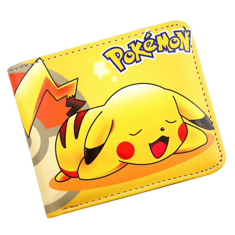 Luggage & Travel Bags Cartoon 3d Design Pokemon Go Picachu Pokemon Ball Passport Cover Credit Card Holder 14*10cm New Travel Accessories