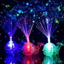 Cute Whale Led Ring Kids Toy Finger Lights Luminous Flash Li