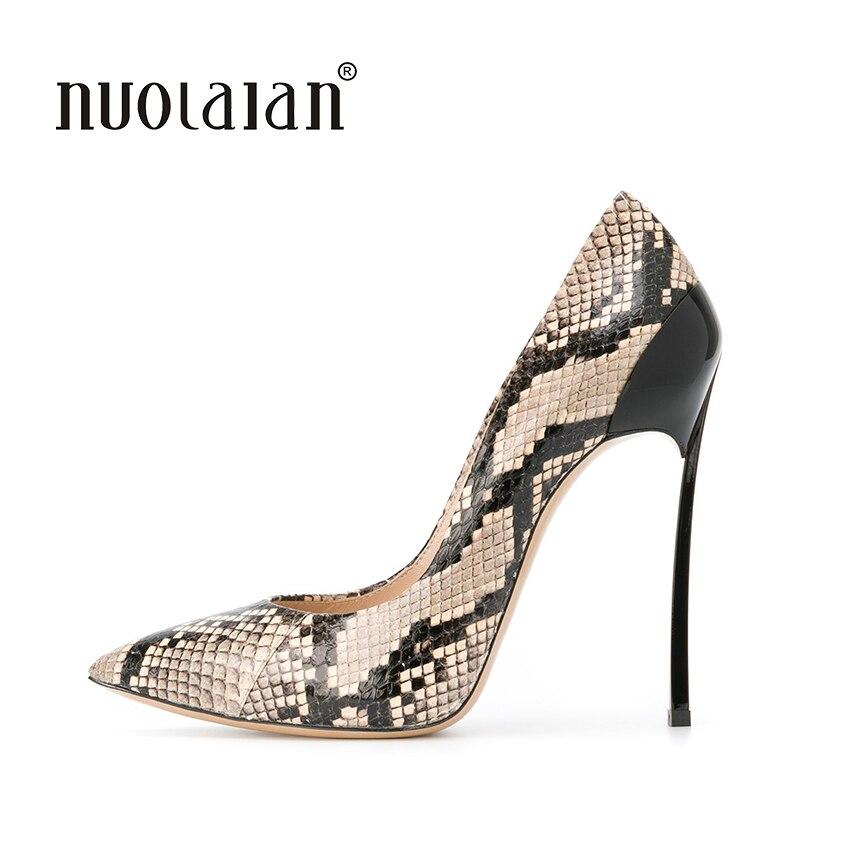 2018 marque chaussures femme Sexy talons hauts femmes pompes Stiletto talons minces chaussures pour femmes bout pointu talons hauts fête chaussures de mariage