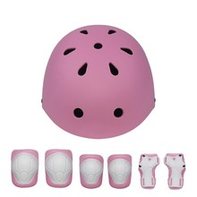 7 pcs/Set Cycling Helmet Kids Youth Protective Gear Set Wrist Elbow Knee Pads Adjustable Sports Skate Bicycle Skateboard 2016 free shipping winmax new design men s multi use cycling skateboard cool bicycle skate helmet