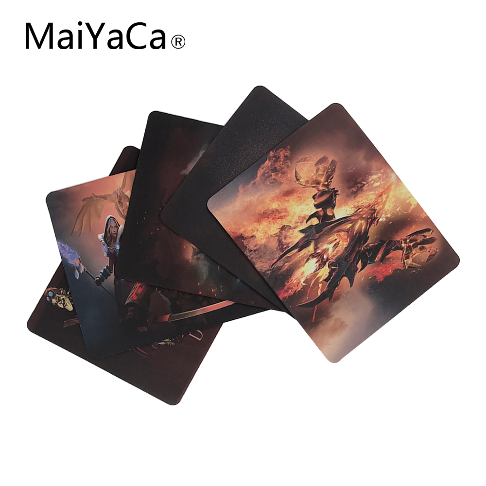 все цены на MaiYaCa New Arrival Funny New Dota 2 Large Gaming Mouse Pad Mat Gaming Rubber Durable PC Anti-slip Mouse Mat for Trackball Mouse