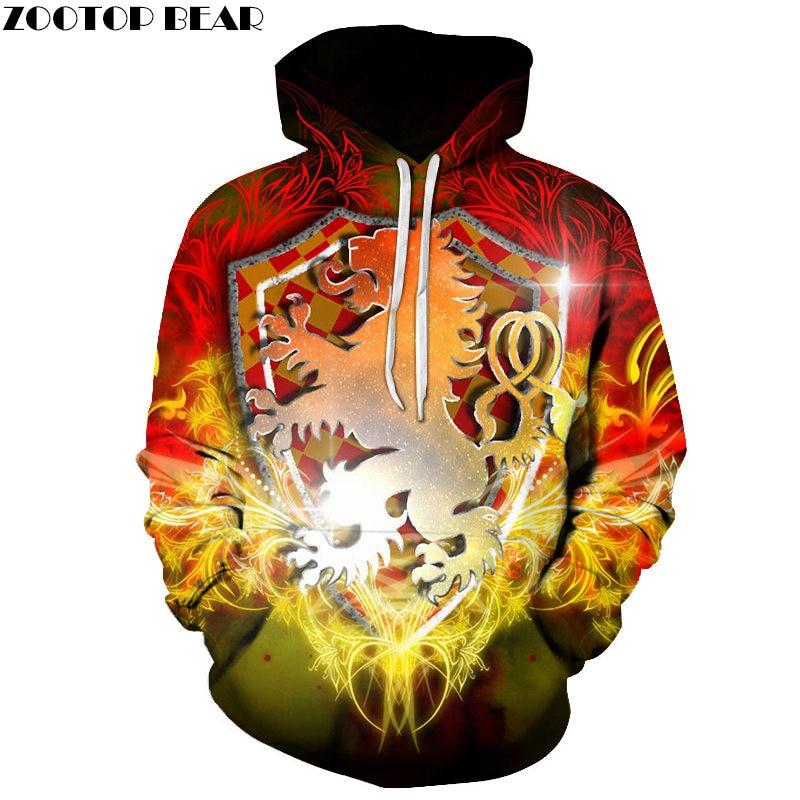 Resurrection card Men Hoodies HOT Fashion Anime Brand Casual Movie Game Sweatshirts Long Sleeve 3D Print Coat Tops ZOOTOP BEAR