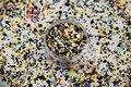 RAFMP321-256 Mix Colors Mix Colors Dot shapes round Glitter for nail art ,nail gel, nail polish makeup and DIY decoration