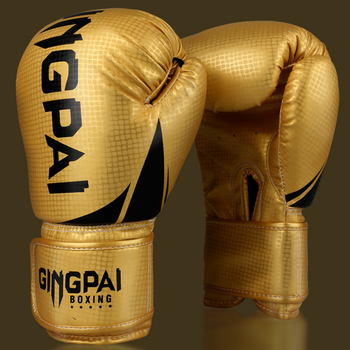 High Quality Adults Women/Men Boxing Gloves Leather MMA Muay Thai Boxe De Luva Mitts Sanda GYM Equipments 8 10 12 6 OZ boks