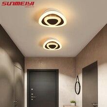 Modern Led Ceiling Lights Dimmable Triangle Art Light For Living room Corridor Hallway White Bedroom Lamp Home decor