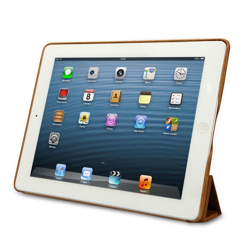 Funda para iPad 2018 de Jisoncase Funda Cuero genuino para iPad 2/3/4 - Accesorios para tablets - foto 3