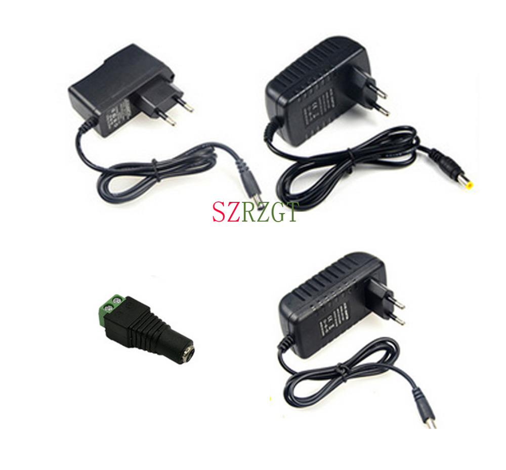 5.5x2.1mm CCTV Camera 1 Female to 2 Male DC 12V Power Splitter Cable Adapter  B$