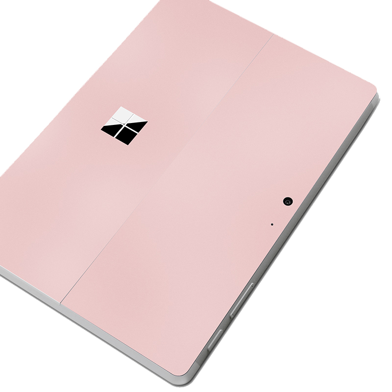 For Microsoft Surface Go Ultra Thin Decal Skin Rose Gold Anti-scratch Tablet Sticker Removable Bubble Free Slim Decorative Decal